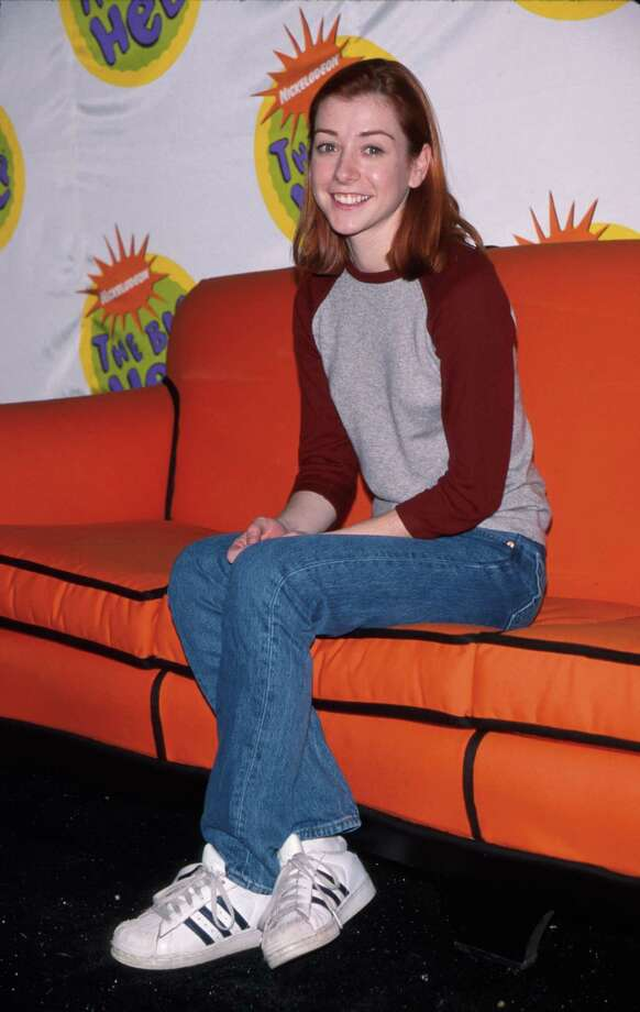 Alyson Hannigan. Birthday: March 24, 1974. She's pictured in 1988.  Photo: Mirek Towski, Getty Images / Time Life Pictures