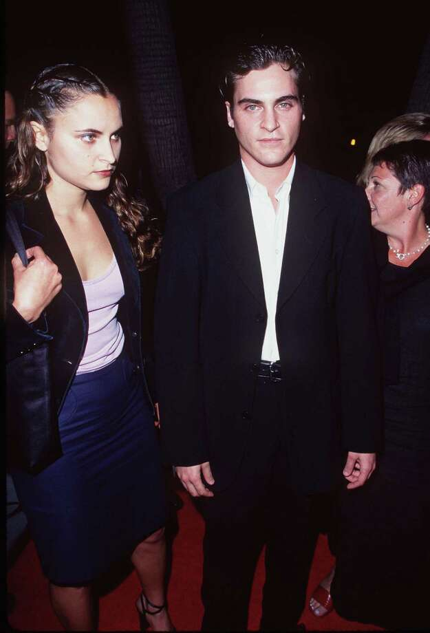 "Joaquin Phoenix will turn 40 on Oct. 28. He's pictured at the ""U-Turn"" premiere in 1997 with sister Rain Phoenix.  Photo: SGranitz, Getty Images / WireImage"