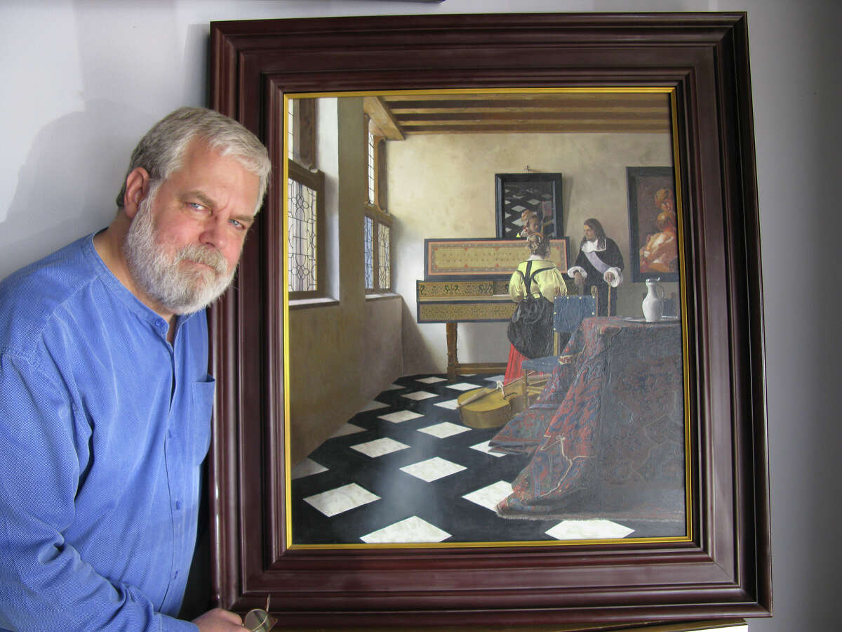 Tim Jenison, who used optical devices and mirrors to paint Vermeer's