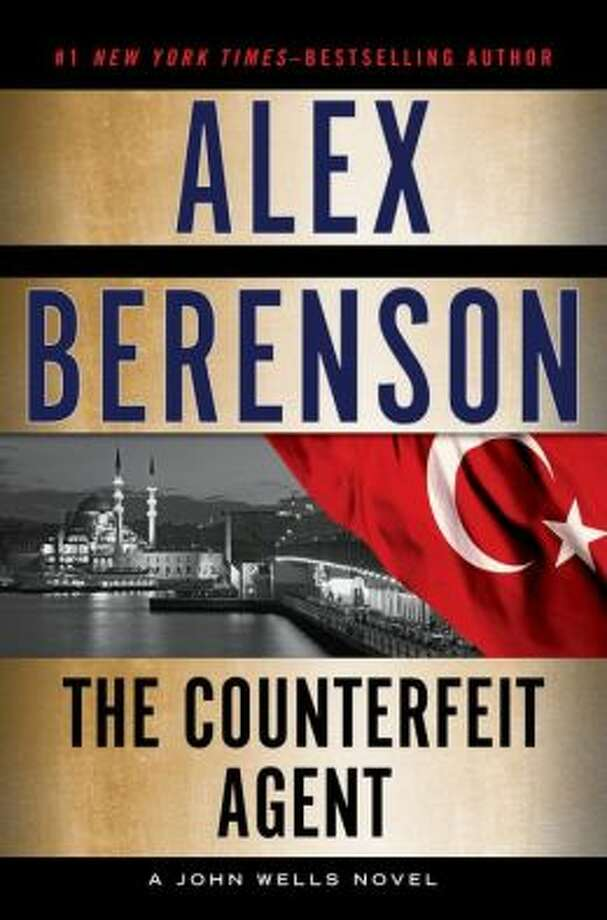 """The Counterfeit Agent"" by Alex Berenson Photo: Xx"