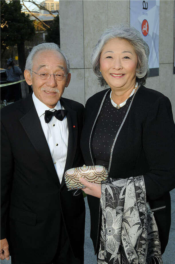 Co-Chairs Glen Yoshiaki Gondo and Donna Fujimoto Cole at the 2014 Tiger Ball. Photo: Dave Rossman, For The Chronicle