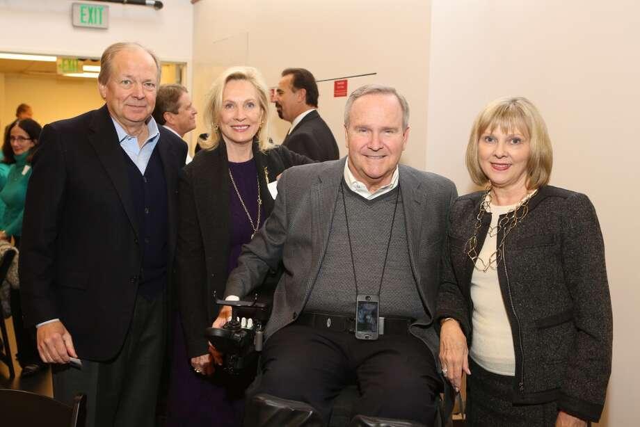 Ken & Susan Blankenship; Staman & Beverly Ogilvie Photo: Priscilla Dickson