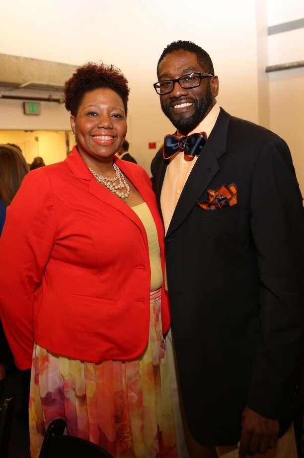 Khaya & Eric Jackson Photo: Priscilla Dickson