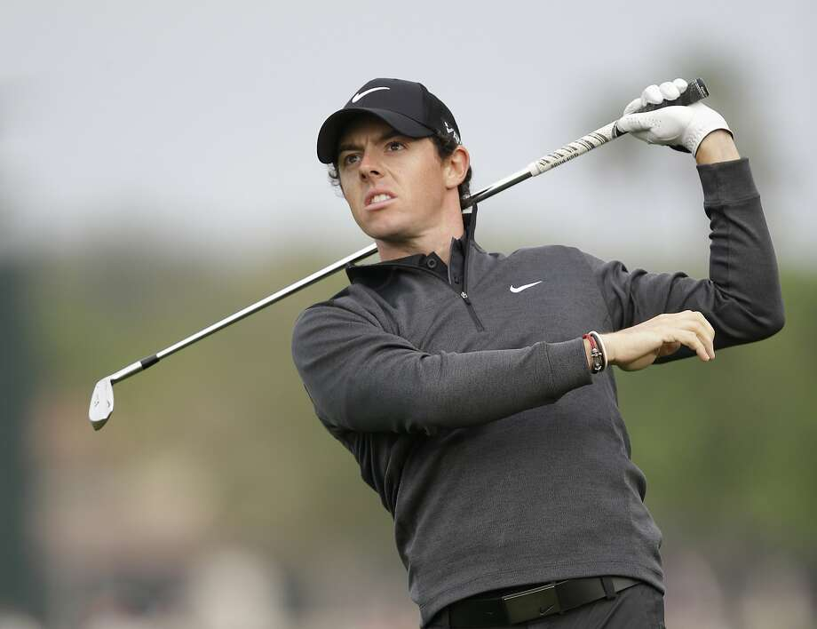 Rory McIlroy hadn't led after two rounds in a tournament in a year and a half. Photo: Wilfredo Lee, Associated Press
