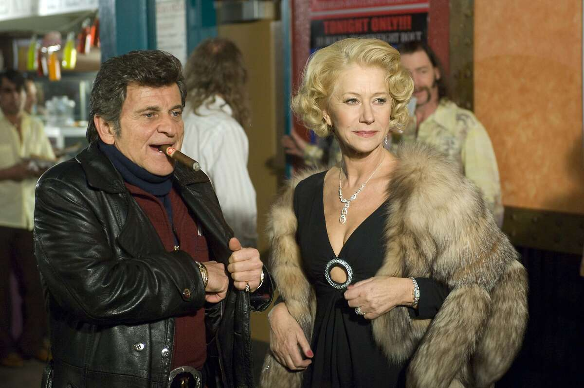 """In this film publicity image released by E1 Entertainment, Joe Pesci portrays Charlie Bontempo and Helen Mirren portrays Grace Bontempo in a scene from """"Love Ranch."""""""