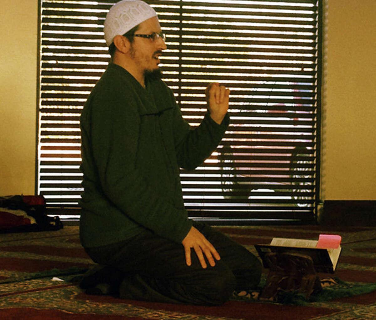 Imam Daniel Abdullah Hernandez is a Hispanic Muslim who teaches at a masjid in Pearland.