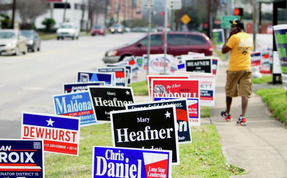 Election Day for Texas' primaries is March 4. Here are the candidates the Houston Chronicle thinks you should vote for.For a text version of this list, click here. Photo: Cody Duty, Staff / © 2014 Houston Chronicle