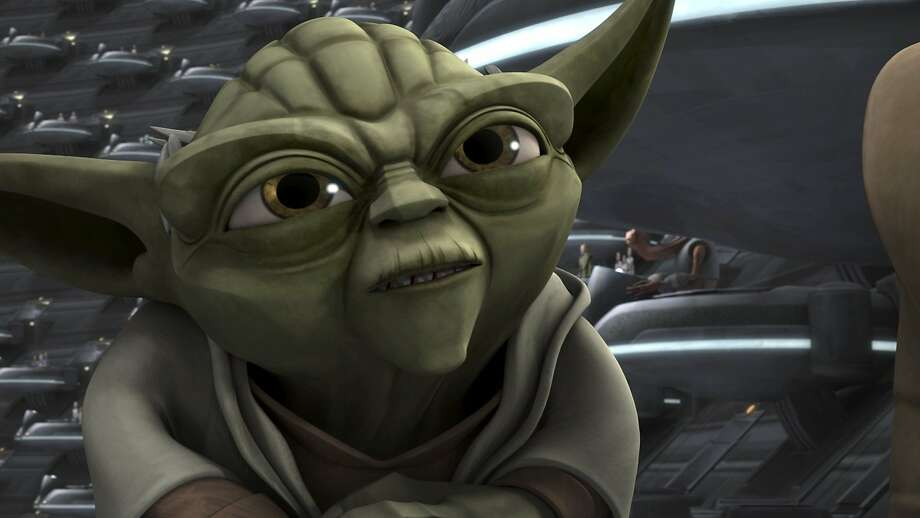 "Tom Kane is the voice behind Yoda in the animated ""Star Wars: The Clone Wars."" Photo: Lucasfilm, Netflix"