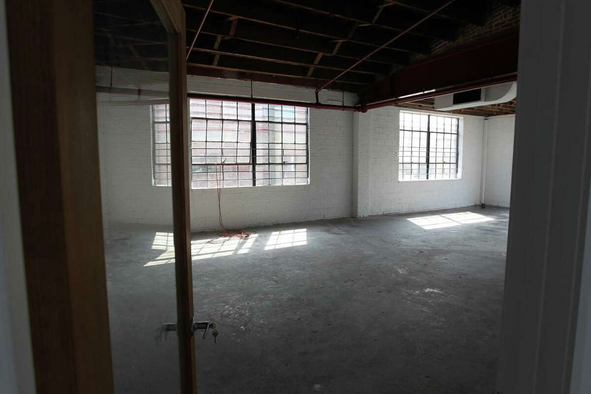 The interior of the Art Square Studios in the 2300 block of Commerce in Houston Texas, February 25, 2014. (Billy Smith II / Houston Chronicle)
