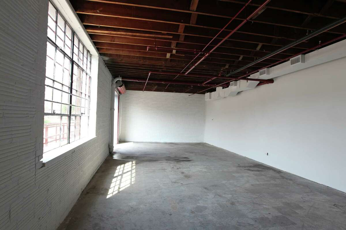 The interior of the Art Square Studios in the 2300 block of Commerce. (Billy Smith II / Houston Chronicle)