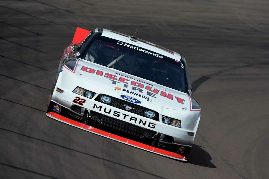 AVONDALE, AZ - FEBRUARY 28:  Brad Keselowski, driver of the #22 Discount Tire Ford, practices for the NASCAR Nationwide Series Blue Jeans Go Green 200 at Phoenix International Raceway on February 28, 2014 in Avondale, Arizona.  (Photo by Robert Laberge/Getty Images) ORG XMIT: 475653991 Photo: Robert Laberge / 2014 Getty Images