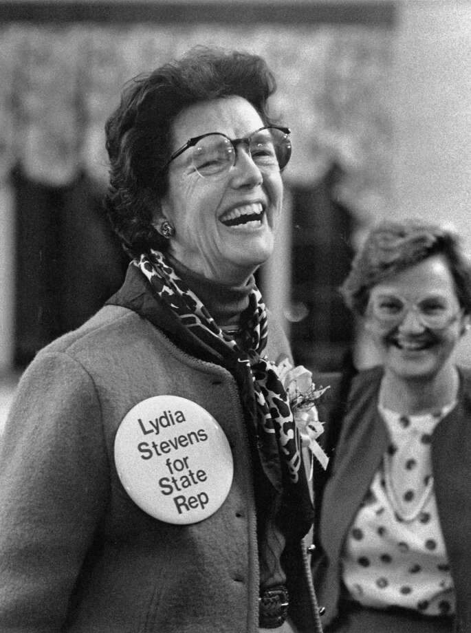 Lydia Stevens, who served Greenwich in many capacities, including as state representative, died this week at the age of 95. Photo: File Photo / Greenwich Citizen