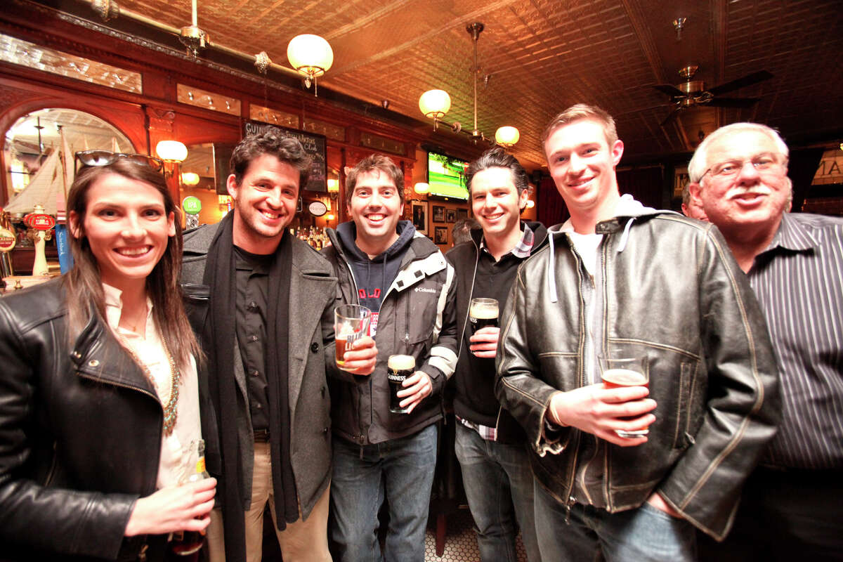Were you Seen at the 8th birthday celebration of Troy Night Out in chilly downtown Troy on Friday, Feb. 28, 2014?