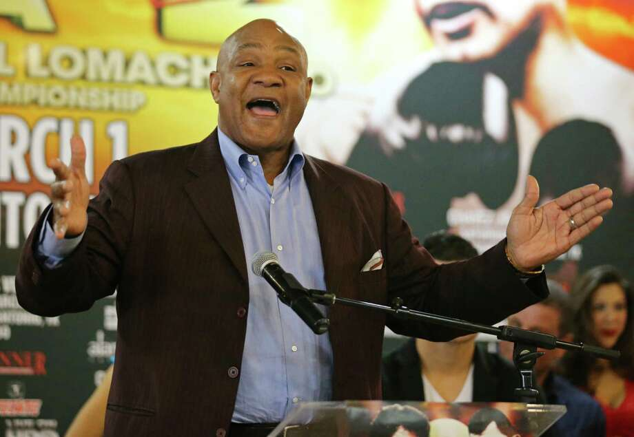 Boxer George Foreman Photo: Edward A. Ornelas, San Antonio Express-News / © 2014 San Antonio Express-News