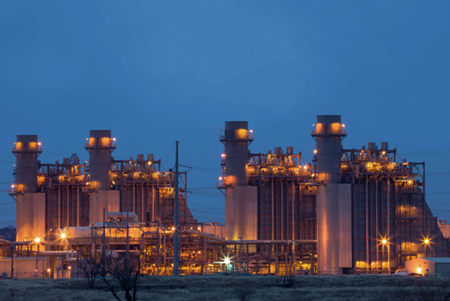 Calpine Corp. has purchased the Guadalupe Energy Center, a combined-cycle power plant northeast of San Antonio that uses both steam and natural gas. Photo: Calpine Corp., Photographer / ©Copyright 2014 Mark Johnson Photography, Inc.