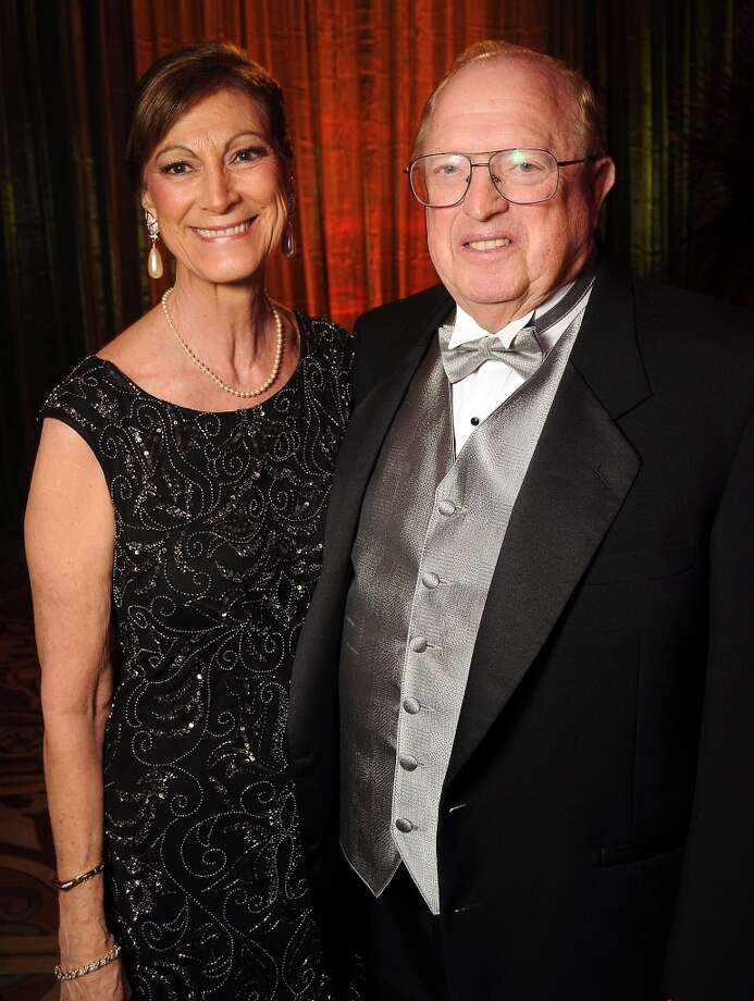 Shelly and Richard Perry at the 18th Annual San Luis Salute at the Galveston Island Convention Center Friday Feb 28, 2014.(Dave Rossman photo) Photo: Dave Rossman, For The Houston Chronicle