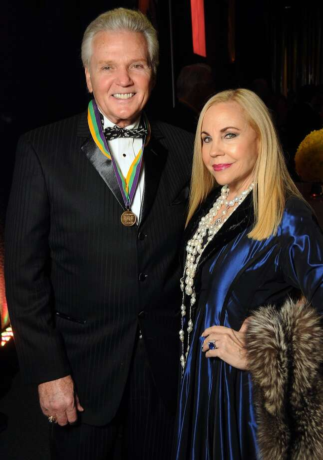 Lance Livingston and Carolyn Farb at the 18th Annual San Luis Salute at the Galveston Island Convention Center Friday Feb 28, 2014.(Dave Rossman photo) Photo: Dave Rossman, For The Houston Chronicle