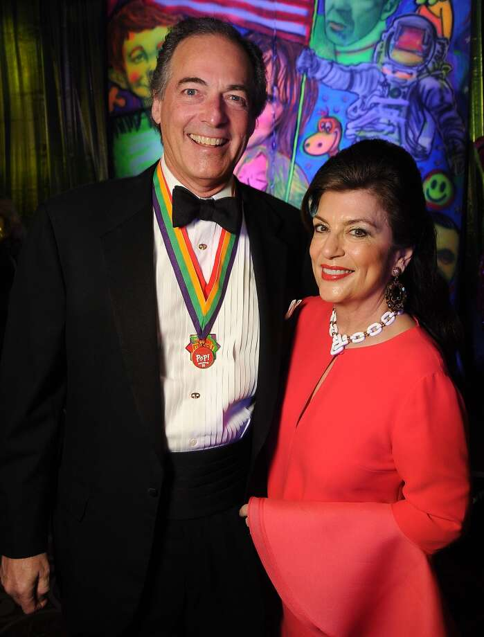 Dancie and Jim Ware at the 18th Annual San Luis Salute at the Galveston Island Convention Center Friday Feb 28, 2014.(Dave Rossman photo) Photo: Dave Rossman, For The Houston Chronicle