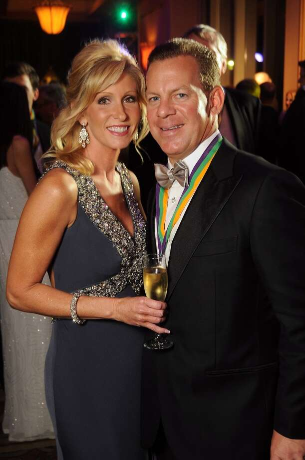 Jenny and Jeff Gorski at the 18th Annual San Luis Salute at the Galveston Island Convention Center Friday Feb 28, 2014.(Dave Rossman photo) Photo: Dave Rossman, For The Houston Chronicle
