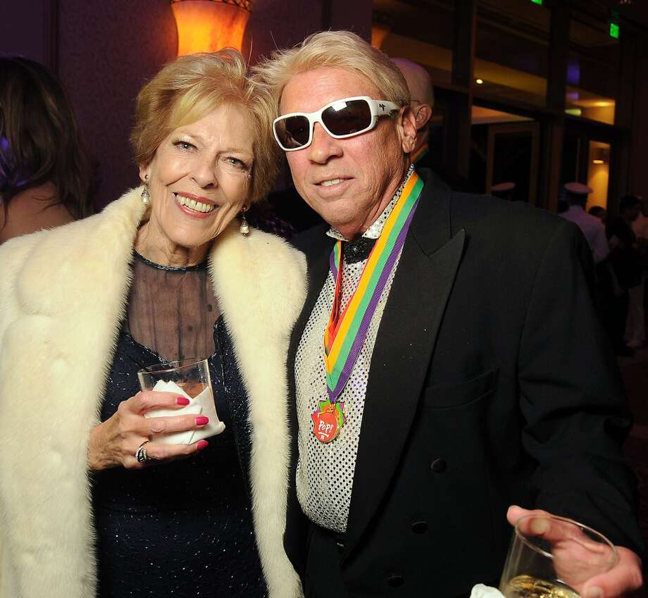 Helen Reddy and Eddie Kier at the 18th Annual San Luis Salute at the Galveston Island Convention Center Friday Feb 28, 2014.(Dave Rossman photo) Photo: Dave Rossman, For The Houston Chronicle