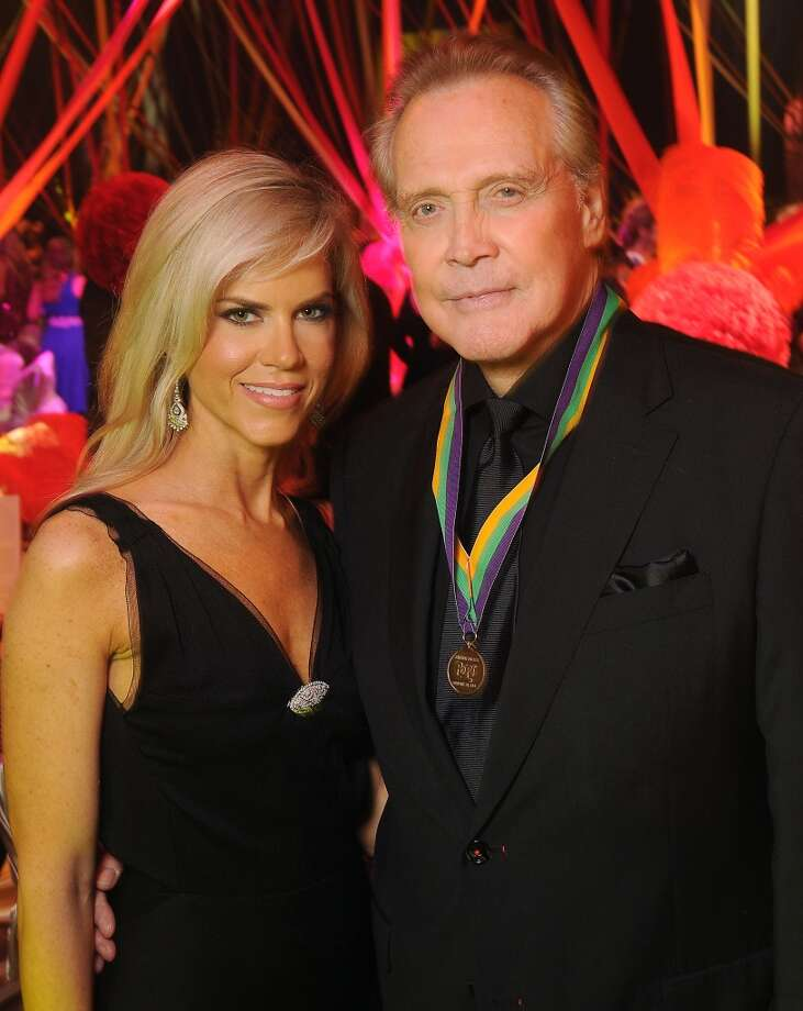 Faith and Lee Majors at the 18th Annual San Luis Salute at the Galveston Island Convention Center Friday Feb 28, 2014.(Dave Rossman photo) Photo: Dave Rossman, For The Houston Chronicle