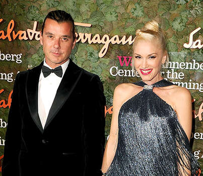 Husband-and-wife- rockers Gwen Stefani and Gavin Rossdale welcomed a third son, named Apollo, on February 28. / 2013 Steve Granitz