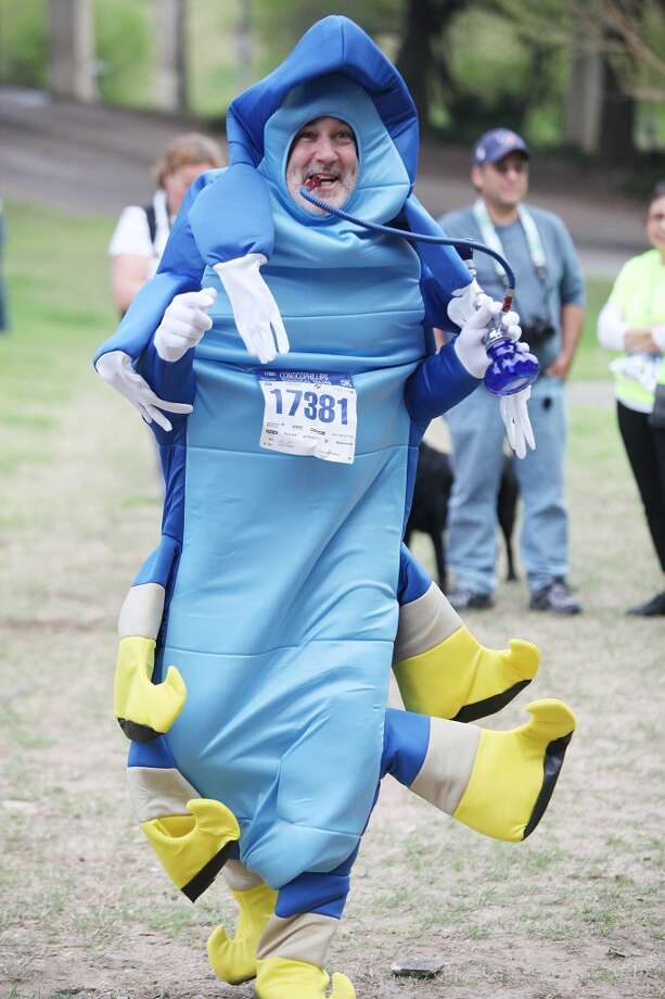 The Conoco Phillips Rodeo Run Costume Contest on Saturday, March 1, 2014, in Houston. ( Houston Chronicle Staff ) Photo: Houston Chronicle