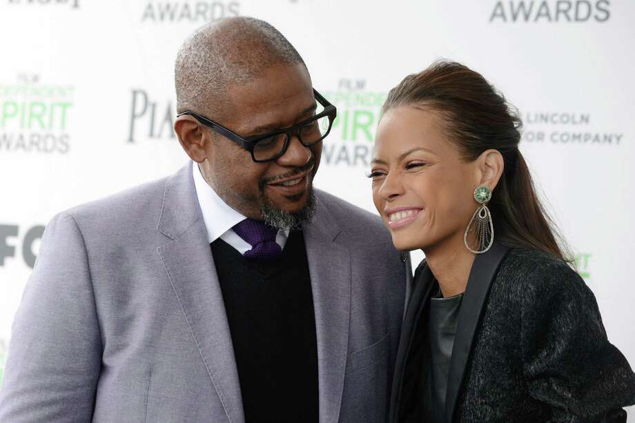 Forest Whitaker, left, and Keisha Whitaker arrive. Photo: Jordan Strauss, Jordan Strauss/Invision/AP / Invision
