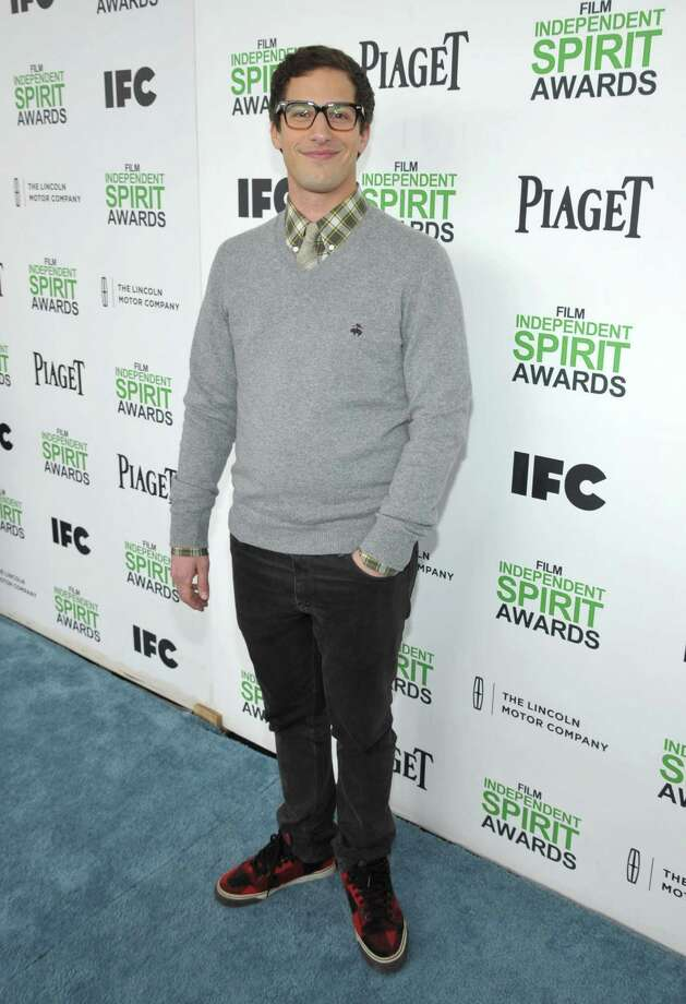 Andy Samberg arrives. Photo: John Shearer, John Shearer/Invision/AP / Invision