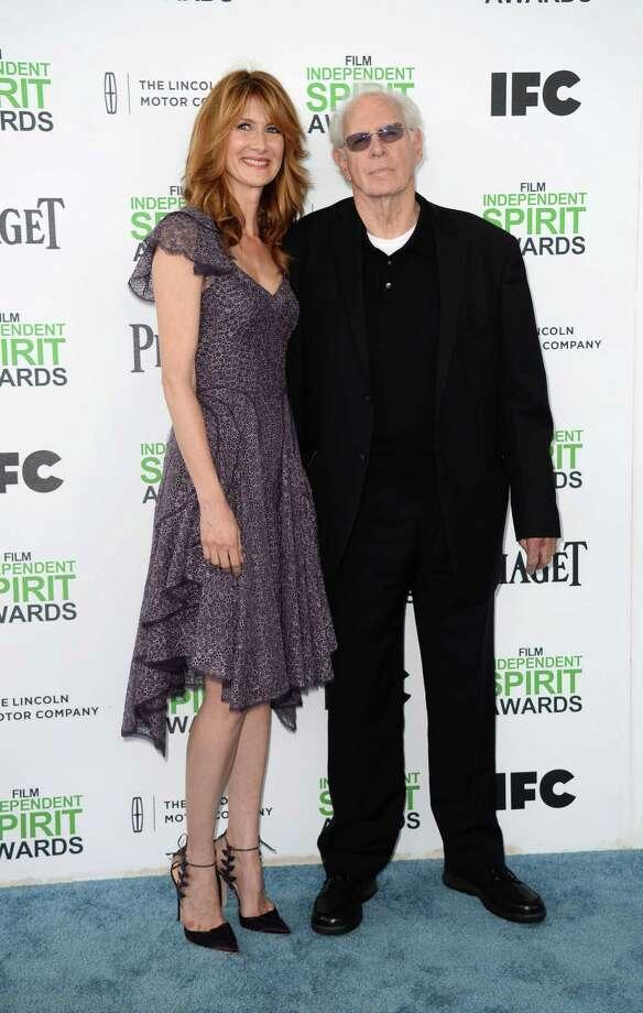 Laura Dern, left, and Bruce Dern arrive. Photo: Jordan Strauss, Jordan Strauss/Invision/AP / Invision
