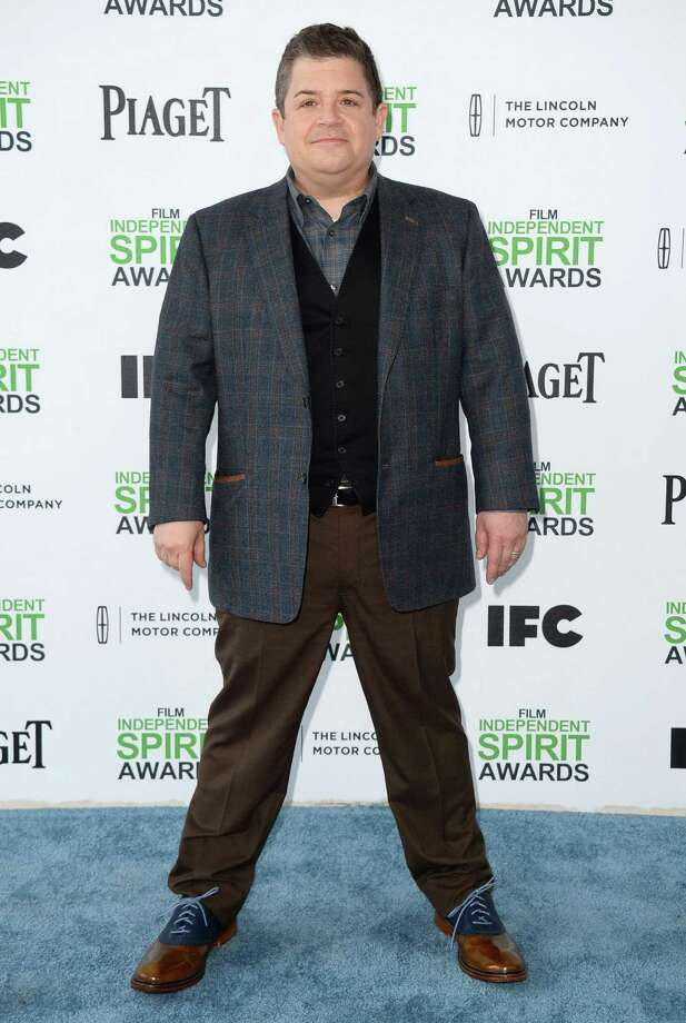 Patton Oswalt arrives. Photo: Jordan Strauss, Jordan Strauss/Invision/AP / Invision