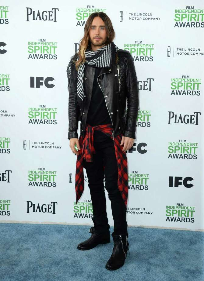 Jared Leto arrives. Photo: Jordan Strauss, Jordan Strauss/Invision/AP / Invision