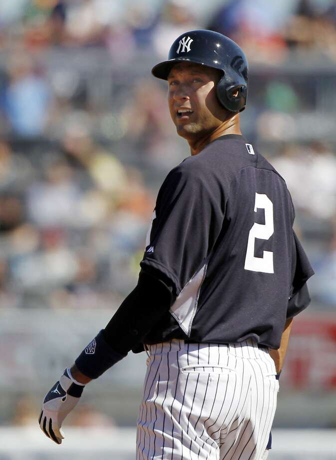 "Yankees shortstop Derek Jeter has ""every good personality trait you can think of,"" Jed Lowrie said. Photo: Kim Klement, Reuters"