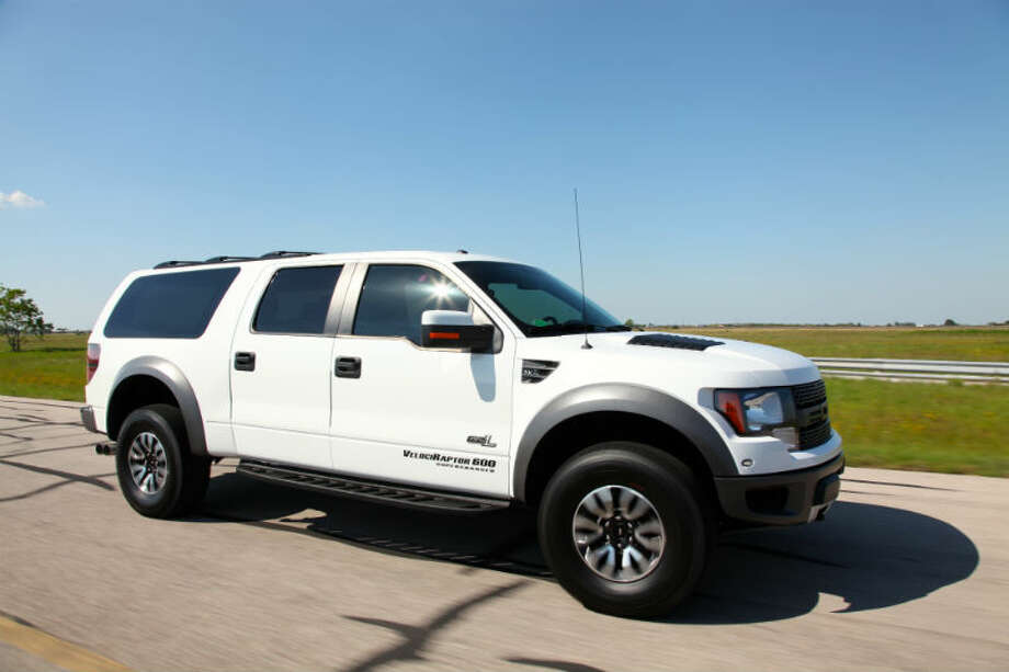 Hennessey VelociRaptor® SUV Photo: Hennessey Performance