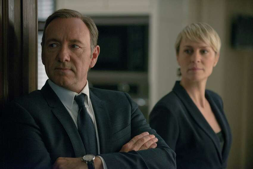 'House of Cards' - A Southern congressman manipulates his family, a young female journalist and his fellow politicos for his own twisted gains.Seasons: 2; a third season has been announced
