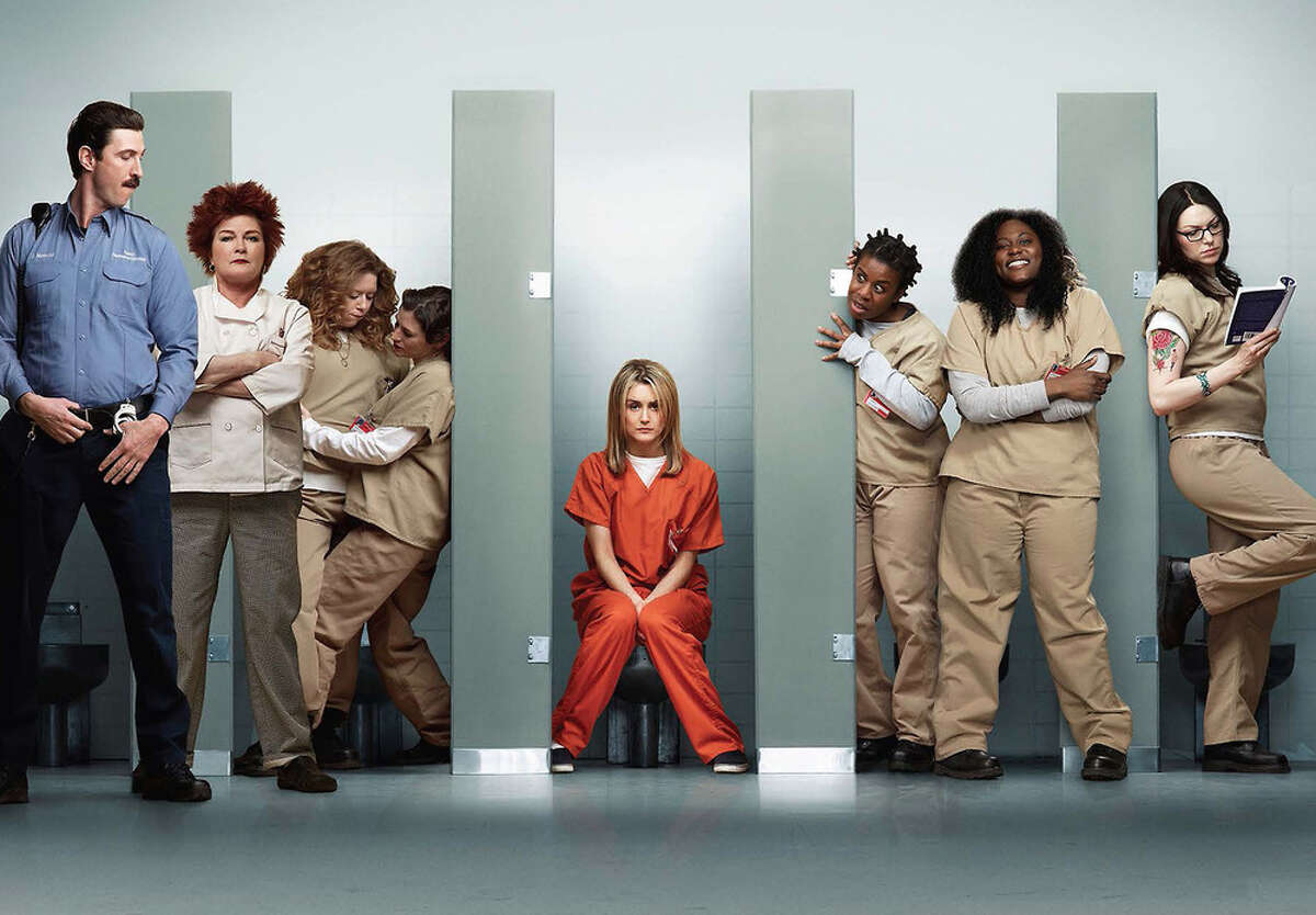 'Orange is the New Black' - A white collar woman is sentenced to jail-time for an indiscretion committed years before in this dramatic dark comedy. Seasons: 1; season 2 expected late-spring 2014