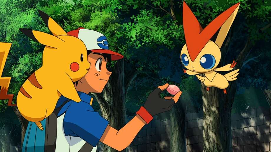 Pokémon the Movie: Black: Victini and Reshiram (2011): When misguided wanderer Damon nabs the mythical Pokémon Victini to harness his power, Ash attempts to rescue Victini and save Eindoak Town. But first, Ash must pass a test that will earn him the help of the legendary Pokémon Reshiram.