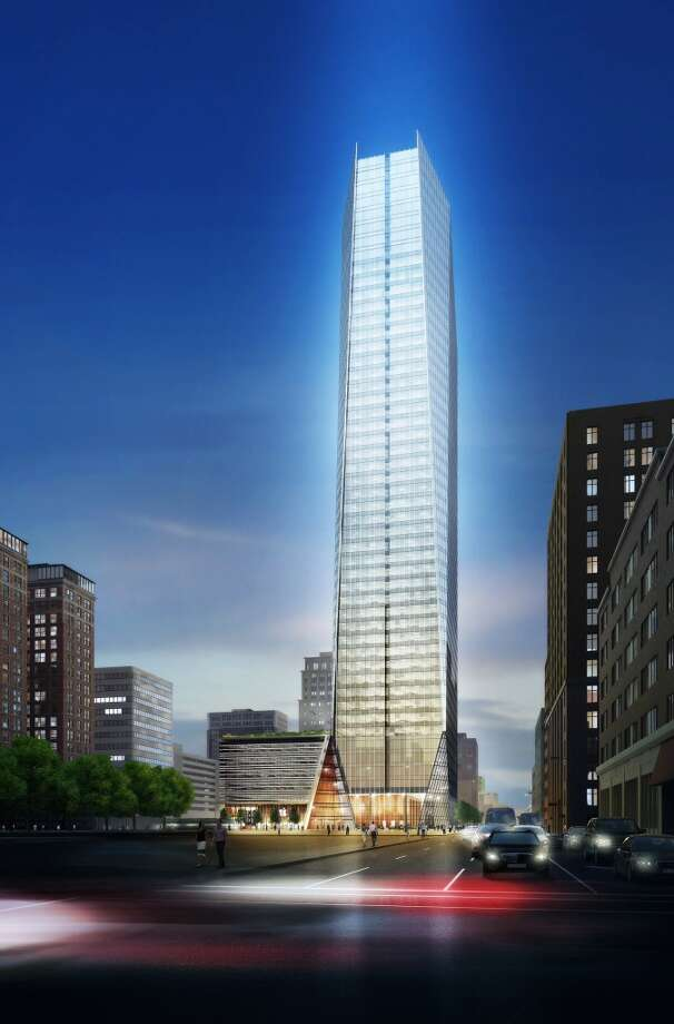 609 Main:Houston-based Hines has started work on a downtown block at 609 Main where it will build a 1 million-square-foot, 47-story tower. Photo: Courtesy Of Hines