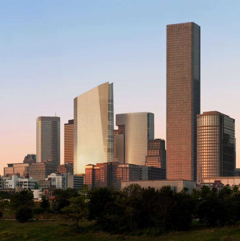 609 Main: Houston-based Hines has started work on a downtown block at 609 Main where it will build a 1 million-square-foot, 47-story tower. Photo: Hines