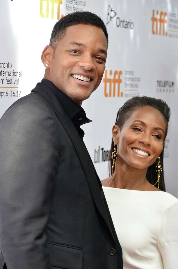"""Will Smith and Jada Pinkett Smith met on the set of """"The Fresh Prince of Bel-Air"""" in 1990 but didn't begin dating until 1995. They were married two years later. Photo: Alberto E. Rodriguez, Getty Images / 2012 Getty Images"""