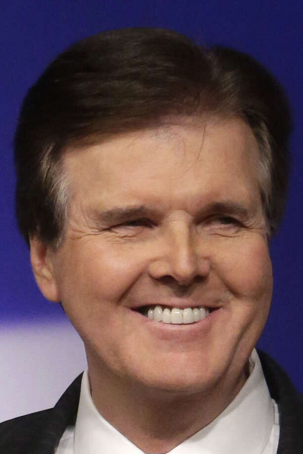 Dan Patrick might be the foe Leticia Van de Putte would most like to run against in November. / Pool AP
