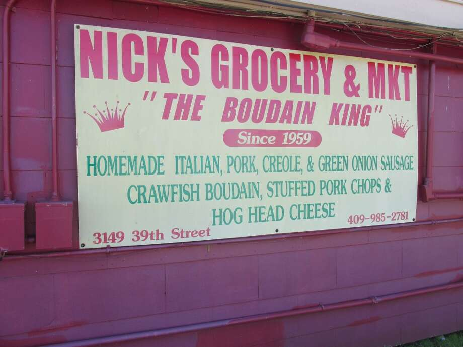 Nick's Grocery is a long-standing - and still popular - Port Arthur grocery that specializes in Cajun items like boudin. The store opened in 1959. Photo: Cat5