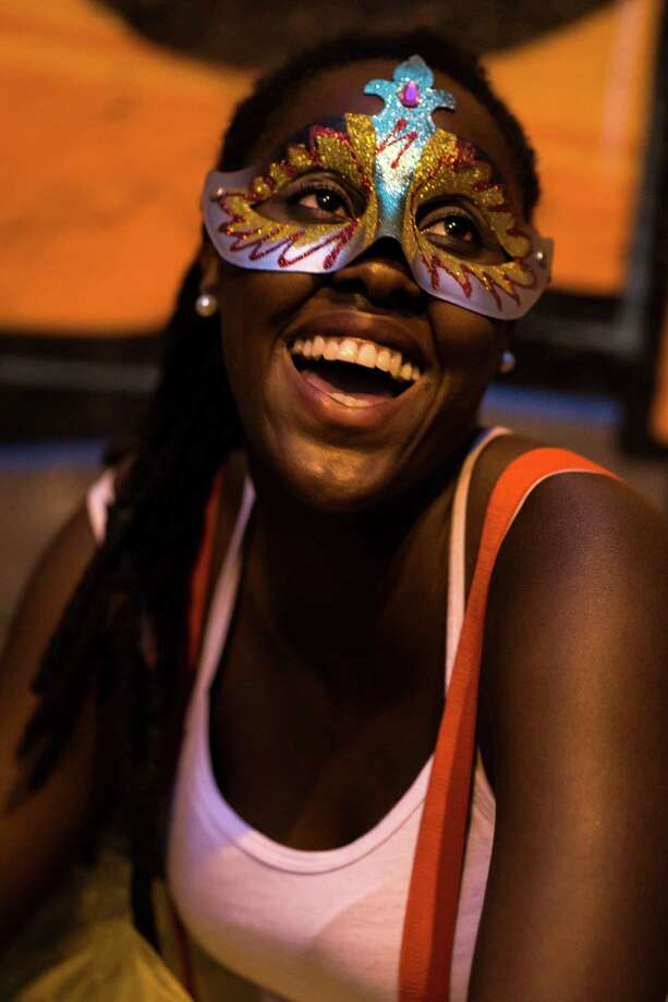 People wearing funny customes enjoy the opening day of Carnival 2014 during the parade of Bloco Das Carmelitas at the Street carnival celebration at Santa Tereza Neighbourhood  on February 28, 2014 in Rio de Janeiro, Brazil. Photo: Buda Mendes, Getty Images / 2014 Getty Images