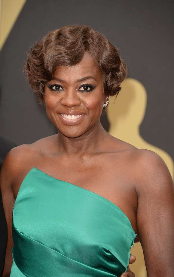 Actress Viola Davis at the Oscars Photo: Jason Merritt, Getty Images