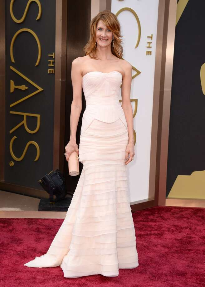Laura Dern arrives at the Oscars on Sunday, March 2, 2014, at the Dolby Theatre in Los Angeles. Photo: Jordan Strauss, Associated Press