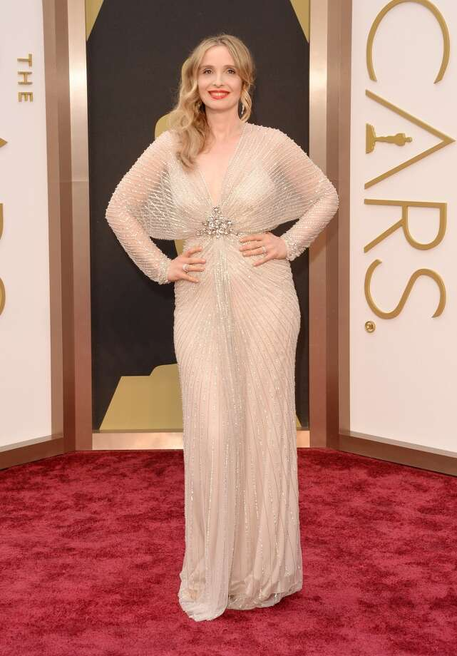 Actress Julie Delpy attends the Oscars held at Hollywood & Highland Center on March 2, 2014 in Hollywood, California. Photo: Jason Merritt, Getty Images