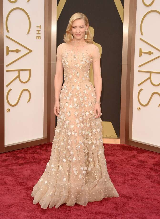 Actress Cate Blanchett attends the Oscars held at Hollywood & Highland Center on March 2, 2014 in Hollywood, California. Photo: Jason Merritt, Getty Images
