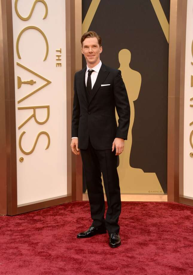 Actor Benedict Cumberbatch attends the Oscars held at Hollywood & Highland Center on March 2, 2014 in Hollywood, California. Photo: Jason Merritt, Getty Images