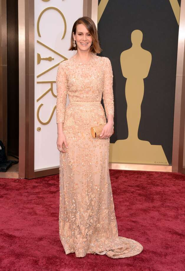 Actress Sarah Paulson attends the Oscars held at Hollywood & Highland Center on March 2, 2014 in Hollywood, California. Photo: Jason Merritt, Getty Images