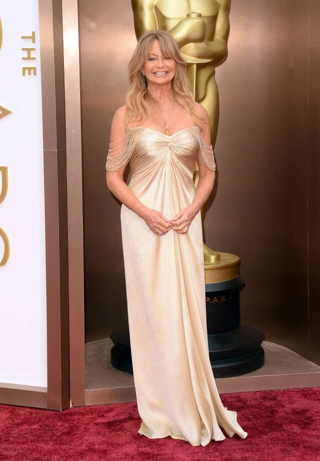 Actress Goldie Hawn attends the Oscars held at Hollywood & Highland Center on March 2, 2014 in Hollywood, California. Photo: Jason Merritt, Getty Images